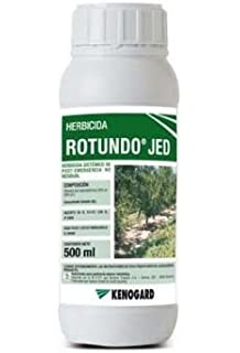 Herbicida total sistémica no residual ROTUNDO TOP JED 500 ml.