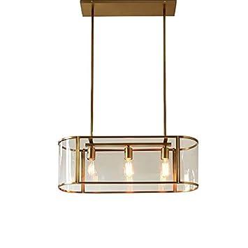 Amazon.com: Nordic Minimalist - Lámpara de araña para salón ...