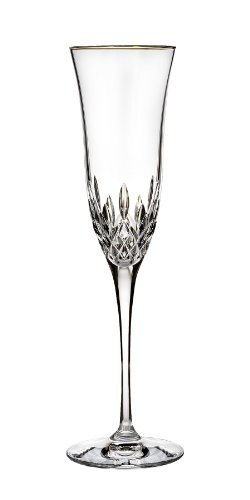 Essence Champagne Glass - Waterford Lismore Essence Gold Stemware Flute