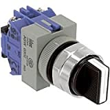 IDEC ASW320 SWITCH, SELECTOR, DPDT-2NO, 10A, 600V