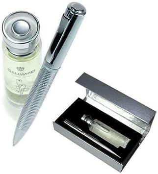 Galimard GAL005 - Estuche de agua de perfume con purpurina para mujer y bolígrafo: Amazon.es: Belleza