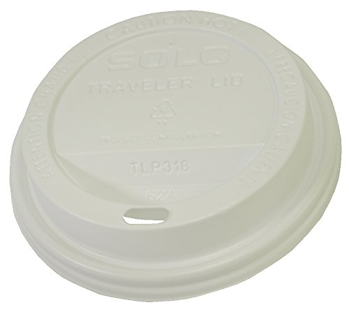 Starbucks SBK1117280 Plastic Hot Cup Lids, 12 oz (Pack of 1000) by Starbucks