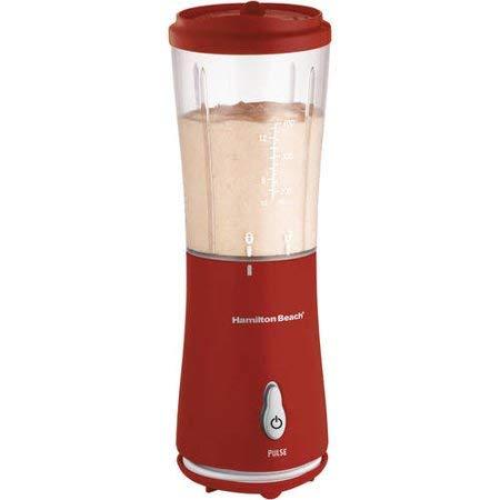 Single-Serve Blender with Travel Lid | Model# 51101R, Healthy Ingredients in Smoothies, Red