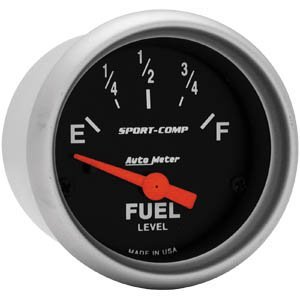 Autometer Sport Comp Fuel Level - Auto Meter 3318 2-1/16IN SPORT COMP.