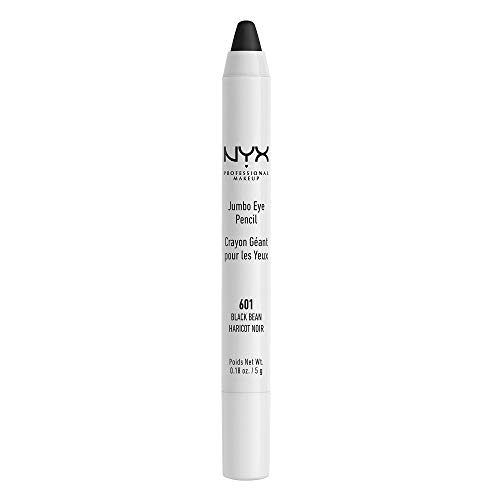 NYX PROFESSIONAL MAKEUP Jumbo Eye Pencil, Black Bean, 0.18 Ounce -
