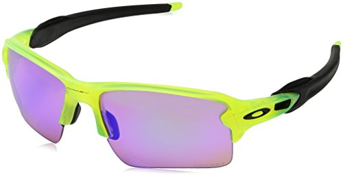 Oakley Men's Flak 2.0 XL OO9188-11 Rectangular Sunglasses, Matte Uranium, 59 - Sunglasses Razor Oakley
