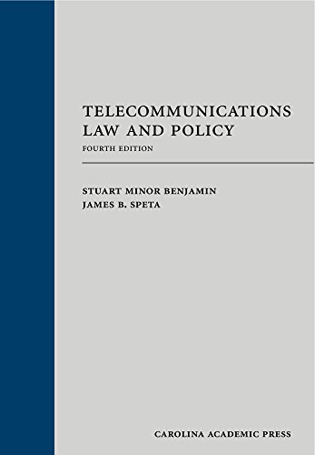 Pdf Law Telecommunications Law and Policy, Fourth Edition