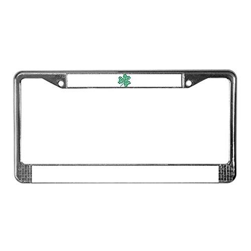 license plate frame shamrock - 6