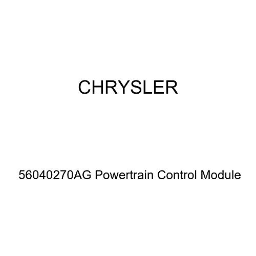 (Genuine Chrysler 56040270AG Powertrain Control Module)