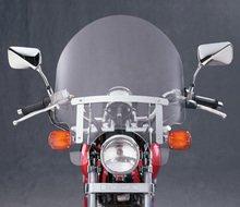 National Cycle Dakota 3.0 Windshield - Short For Harley Davidson FXDS-Conv 1994-2000 / FXR 1982-1983 / 1986-1994 / FXRS 19982-1992 / XL1200C 1996-2010 / XL1200L 2006-2011 / XL1200N 2007-2011 / XL1200R/XL883 2004-2008 / XL1200S 1996-2003 / XL883C 199