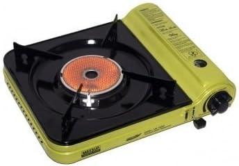 Rsonic Portable Estufa De Gas Camping Cocina con Vitrocerámica