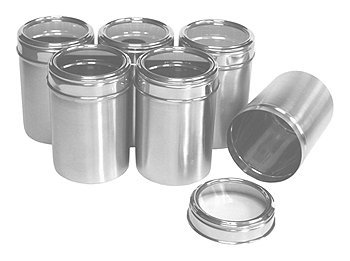 Amazoncom Dynamic Store Stainless Steel Kitchen Storage Canisters