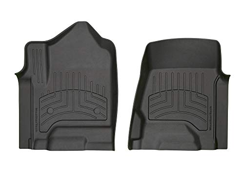 WeatherTech Custom 3D Floor Mats - 446071iM - 1st Row (Black)