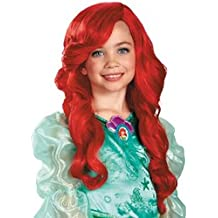 Disney Kids Ariel Wig (One-Size) (Sold by 1 pack of 3 items)