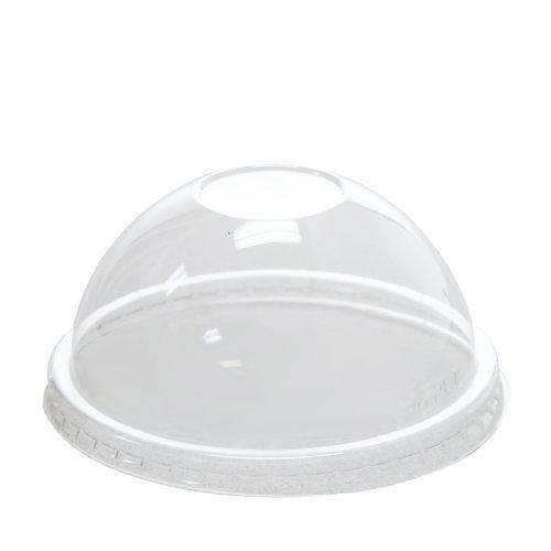 Karat C-KDL96-PET 6-16 oz Food Container Dome Lids (Case of 1000)