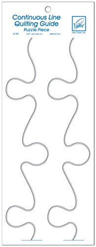 June Tailor Continuous Line Quilting Guide Puzzle, Large