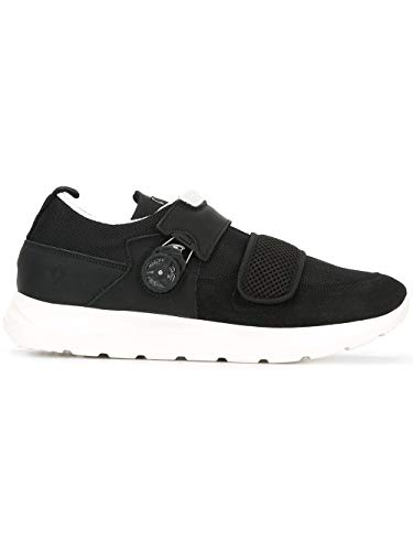 Schwarz MARCELO Leder Herren CMIA010F162411321001 Sneakers BURLON ppxwORq7P