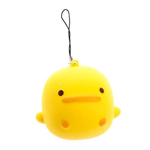 Yellow Rubber Duck Keychain - 4