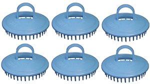 Price comparison product image Century Shampoo Scalp Massage Brush #100 * Blue * 6 - Brushes