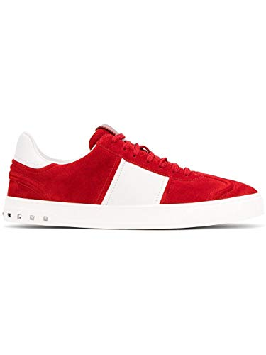 Valentino Garavani Men's Py2s0a08larr81 Red Suede Sneakers for sale  Delivered anywhere in USA
