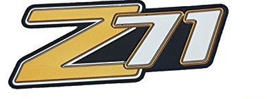 Side Panel Decal - Tahoe Suburban Z71 2000-2006 OEM Liftgate Side Quarter Panel Emblem Decal Badge