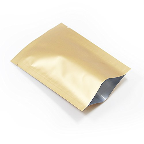 200 Pcs Pure Aluminum Foil Food Saver Packing Bag Safety ...