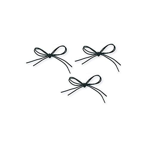 Shoe Laces Elastic Black 30 Pk/3 pr.