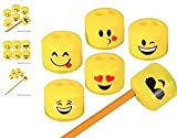 "Best Crayon Sharpeners - (24) 1.5"" Emoji Pencil And Crayon Sharpeners ~ Review"