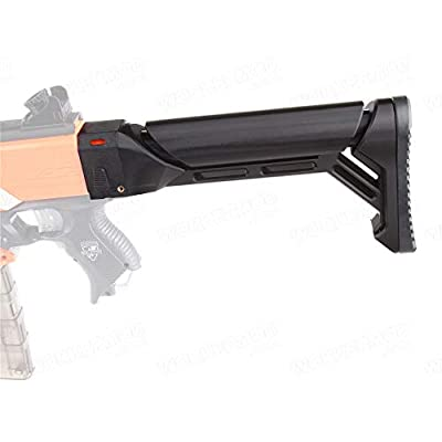 WORKER F10555 3D Printing No.149 B.A.M.F Stock for Nerf Blaster: Toys & Games