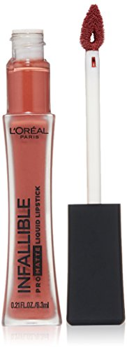 L'Oreal Paris Makeup Infallible Pro-Matte High Pigment, Long Wear Liquid Lipstick, 352 Shake Down, 0.21 fl. oz.