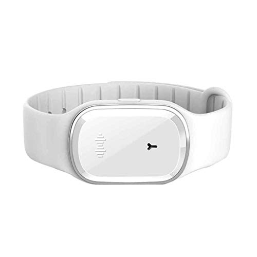 LtrottedJ Pest repellr Electronic Mosquito Repeller Anti Mosquito Bracelet Wristband Child (White) (1a Multi Band)