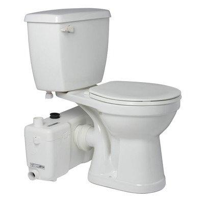 0.375' Slip - Bundle-03 1.6 GPF Round Toilet (5 Pieces) Finish: White