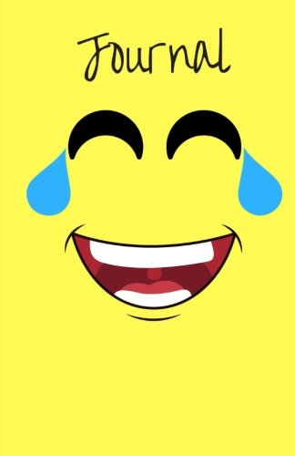 Journal: Laughing Emoji With Tears of Joy Face, Blank Lined Diary Notebook for Teens, Kids or Adults (Elite Journal) ()