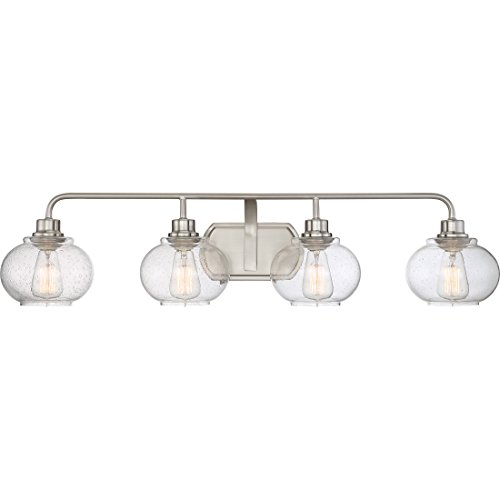 Quoizel TRG8604BN Four Light Bath Light by Quoizel