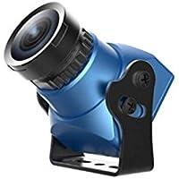Foxeer Arrow Mini V2 FPV Camera Built-in OSD Plastic Case - NTSC - IR Block - Blue