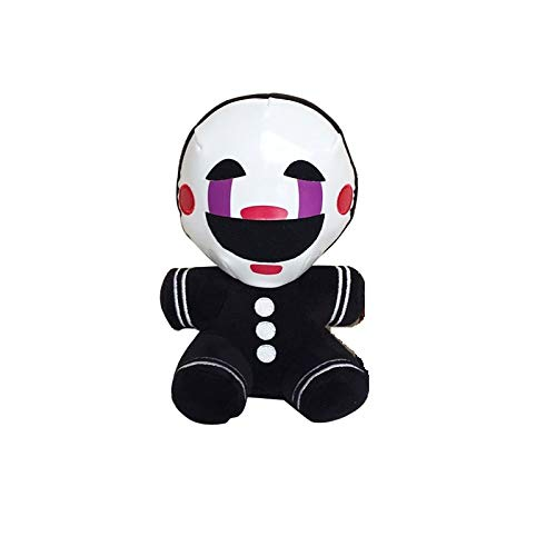 PAPCOOL 1 FNAF Plush Toy 7 inch Hot Toys Mini Cute Doll Stuffed Keychain Nightmare Freddy Bear Sister Location Dolls Christmas Halloween Collectable Gift Gifts Stuff Collectible Collectibles for Kids ()