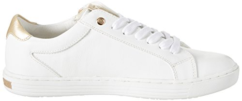 Marco Tozzi 23609, Zapatillas para Mujer Blanco (White Comb 197)