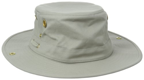 Tilley Endurables T3 Traditional Canvas Hat,Khaki,7 3/8