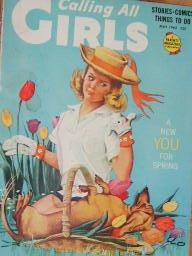 Calling All Girls Magazine Flower Arranging (May, 1962)