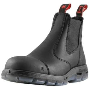 "redback Boots USBBKSC ""Easy Escape"" Steel Toe Scuff Cap – Black (11 UK (12 US))"
