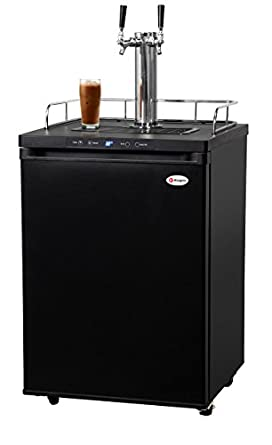 Amazon.com: Kegco ICK30B-2 Double Faucet Digital Javarator Cold-Brew Coffee Dispenser - Black: Industrial & Scientific