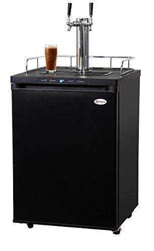 Kegco ICK30B-2 Replicate Faucet Digital Javarator Cold-Brew Coffee Dispenser - Black