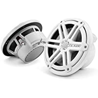 M770-TCX-SG-WH - JL Audio 7 Tower Marine Coaxial Speakers White with Sports Grills