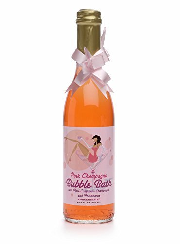 New - Pink Champagne Bubble Bath 12.2 Oz Kingman Industries Inc by HnBlist -