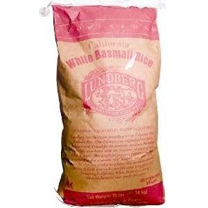Amazon.com: Lundberg California White Basmati Rice, 25 lbs