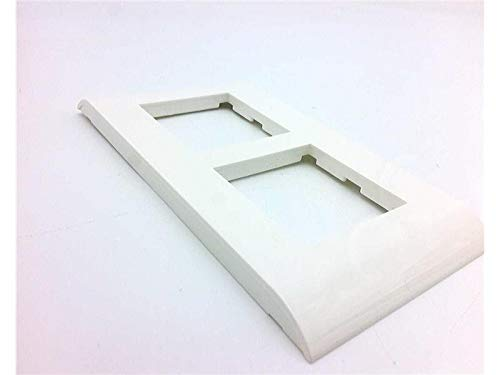 - LEGRAND 750 22 Discontinued by Manufacturer, Price/EA, Wall Plate, Mosaic, 2X2 White Plate