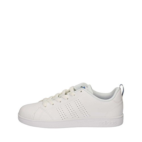 adidas Vs Advantage Clean K, Zapatillas de Deporte Unisex Niños Blanco (Blanco/(Ftwbla/Ftwbla/Azul) 000)