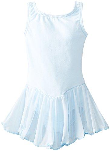 Unique Tutu (Clementine Girl's 2-6X Leotard Dress, Light Blue, 3-4)