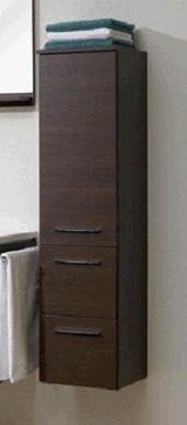 Badschrank 30 Cm Breit Hangeschrank Schoko Struktur Midischrank Badezimmer Sofort Lieferbar 367 013056 Amazon De Kuche Haushalt