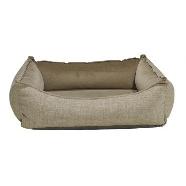 Bowsers Oslo Ortho Bed, Medium, Flax
